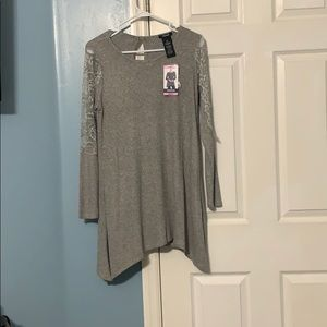 Small gray tunic